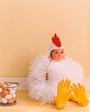 Costume di Carnevale per tutta la famiglia gallo