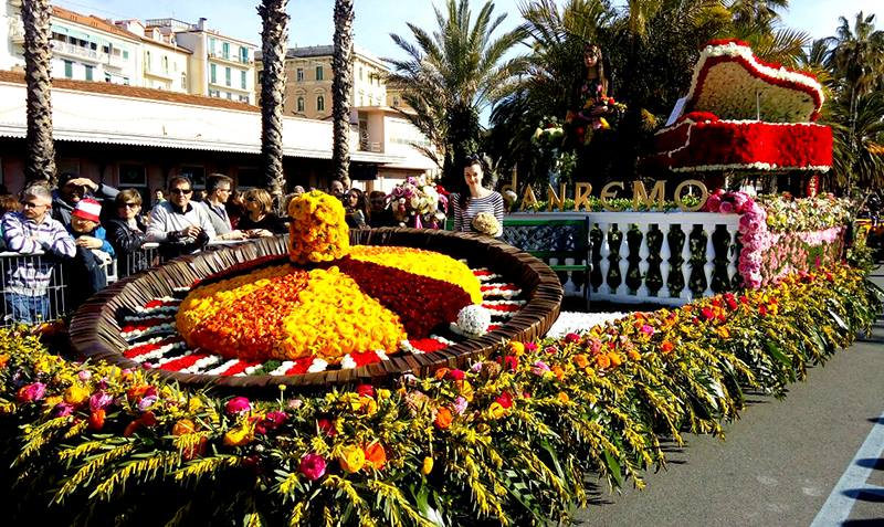 Sanremo in fiore e carri fioriti