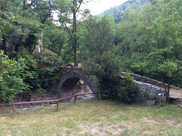 Sant Olcese sentiero botanico di Ciaè a genova