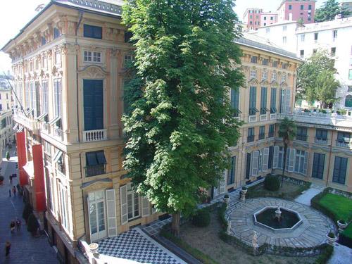 Rolli di Genova palazz bianco patrimonio dell'Unesco