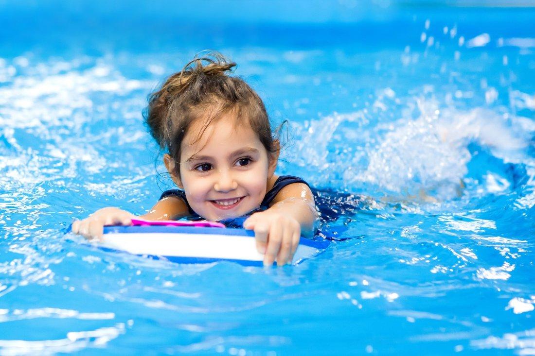 Sport per bambini e il nuoto