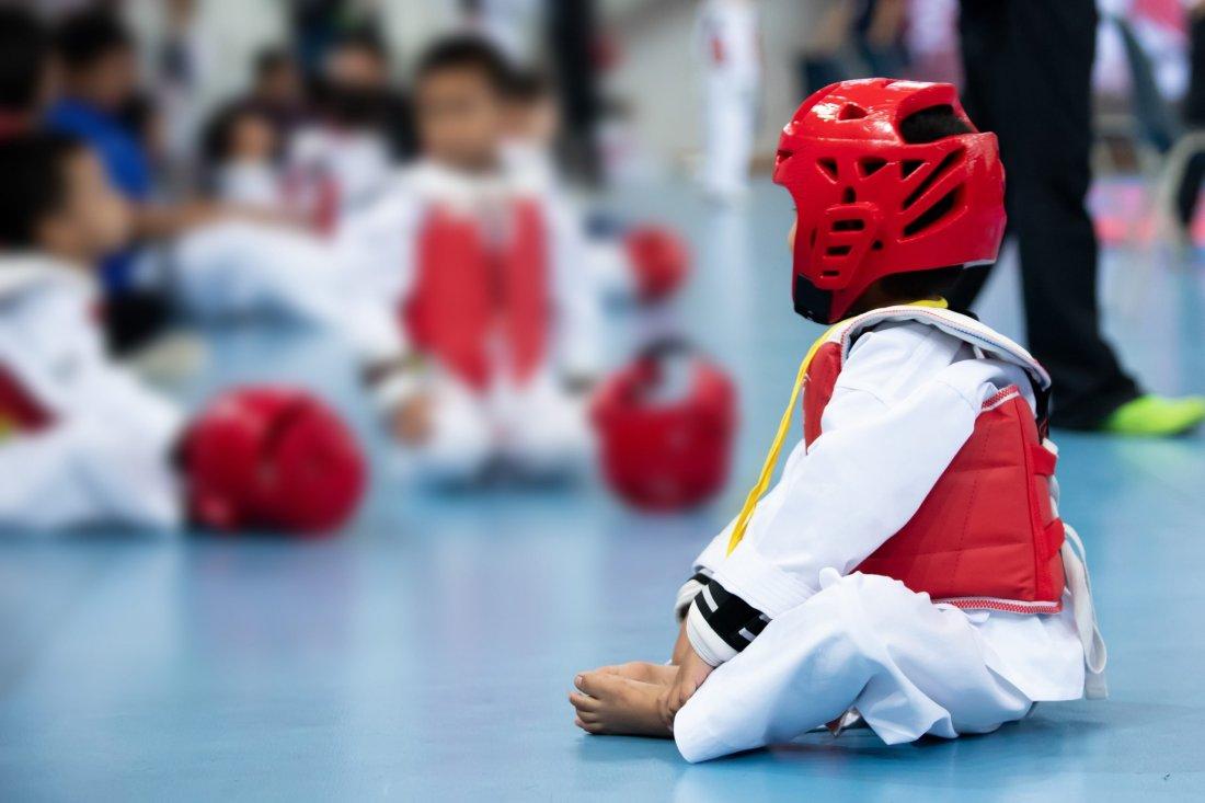 Sport-Bambino-a-Karate
