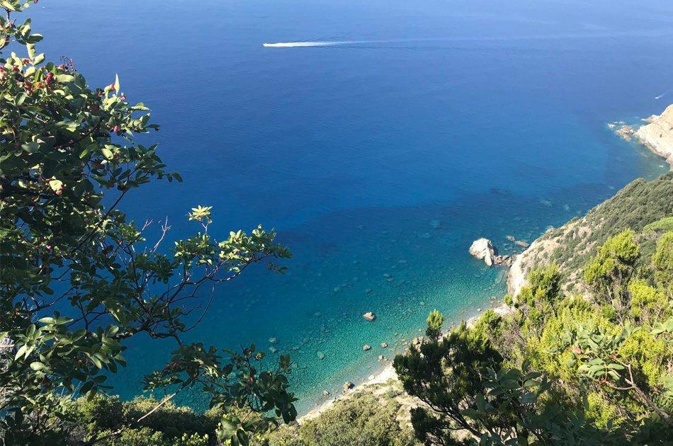 Scorcio mozzafiato dal sentiero che collega Levanto a Monterosso