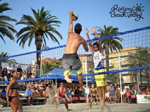 Finale Ligure riviera beach volley