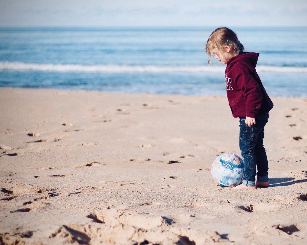 Mare Inverno spiaggia