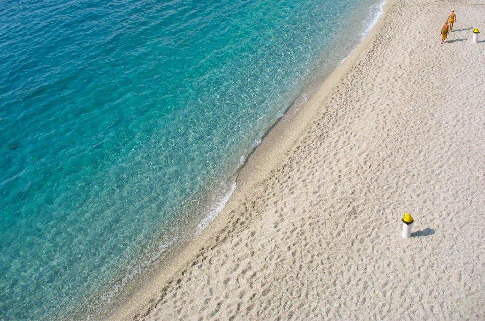 Bergeggi spiaggia di sabbia bianca
