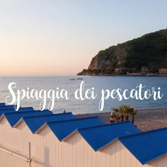 Spiagge più belle della Liguria spiaggia dei Pescatori