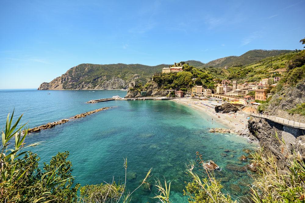 Spiaggia Monterosso nelle cinque terre