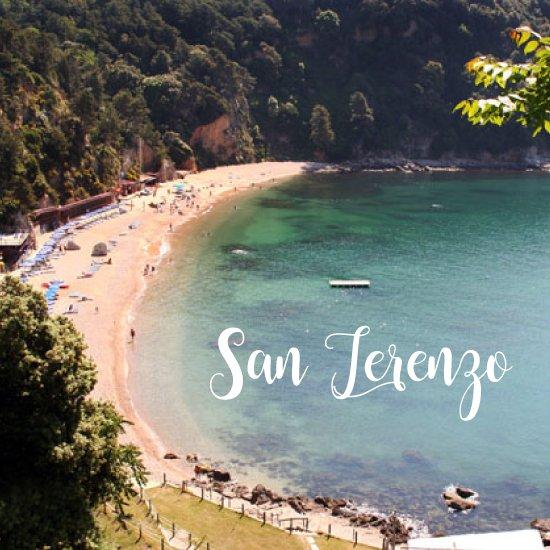 Spiagge più belle della Liguria San Terenzo