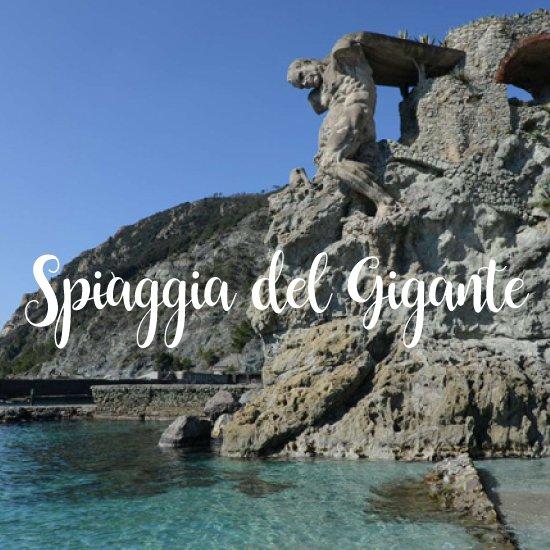 Spiagge più belle della Liguria Spiaggia del Gigante