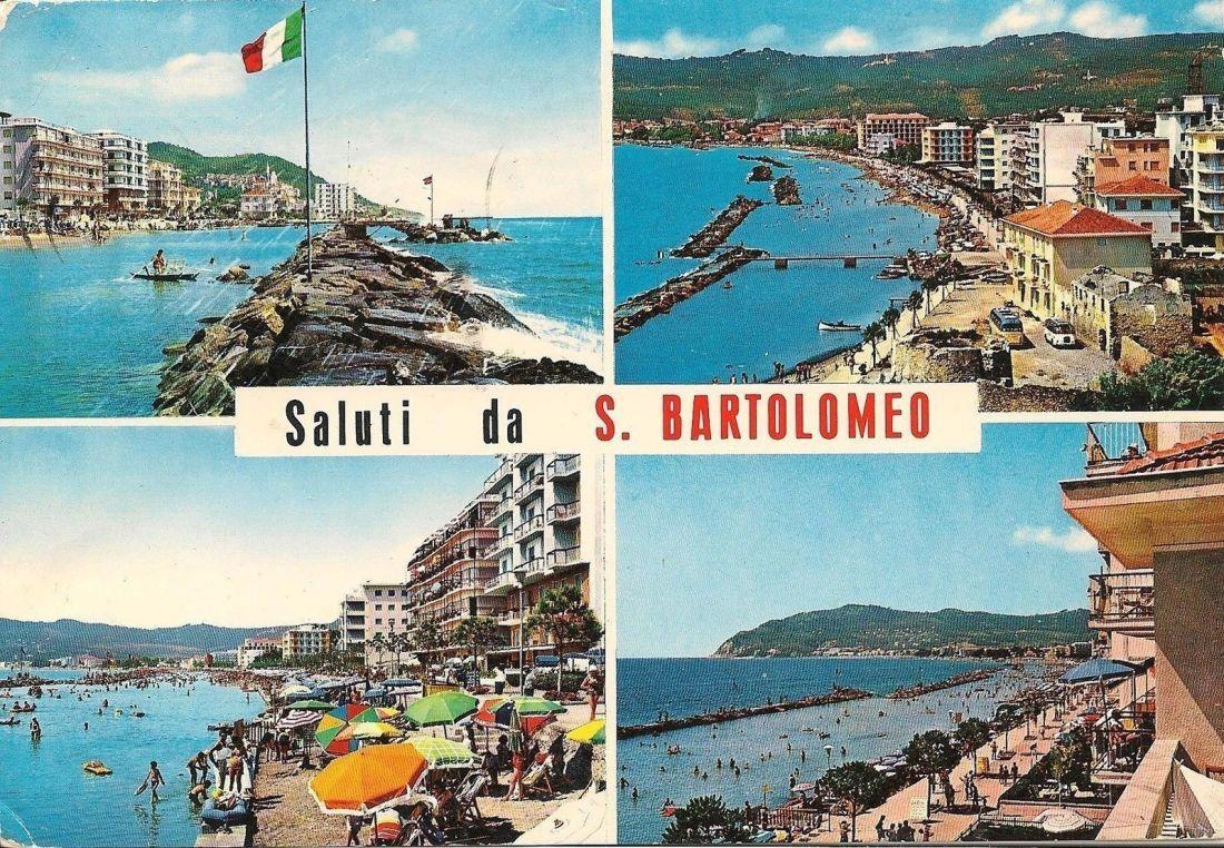Cartolina da San Bartolomeo al Mare