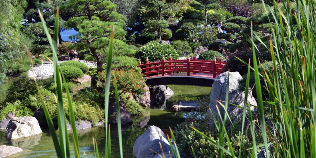 Costa Azzurra Monaco con il suo giardino stile giapponese
