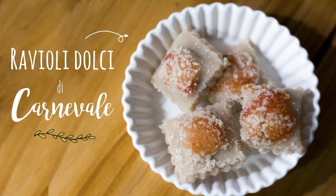 Ricetta dei ravioli dolci di carnevale