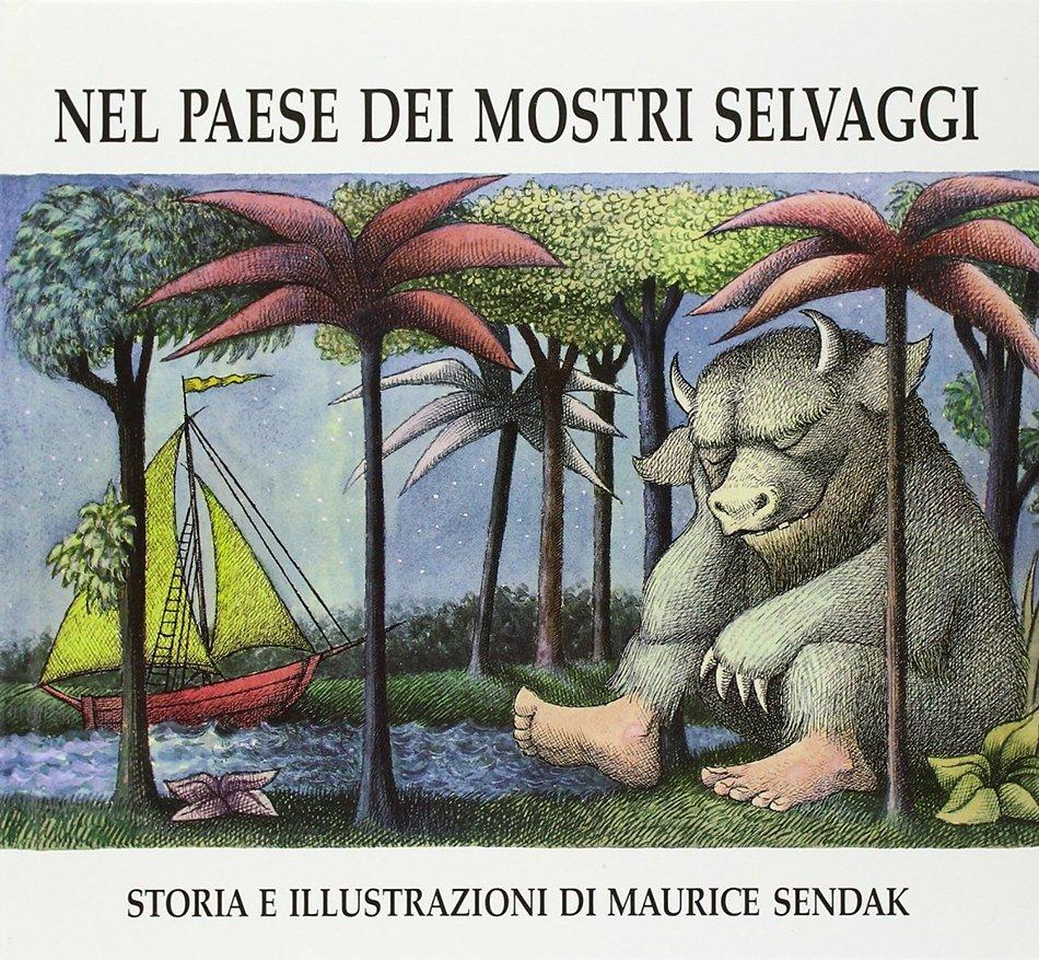 Copertina Nel paese dei mostri selvaggi Maurice Sendak