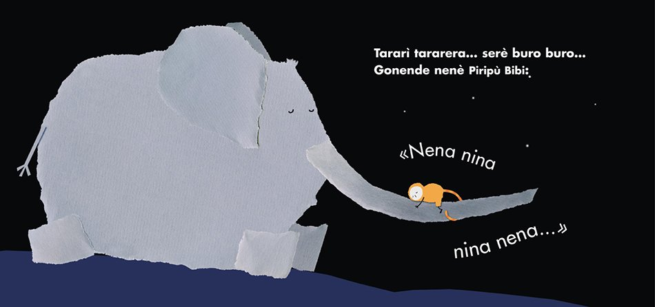 Tarari tararera di Emanuela Bussolati disegno elefante