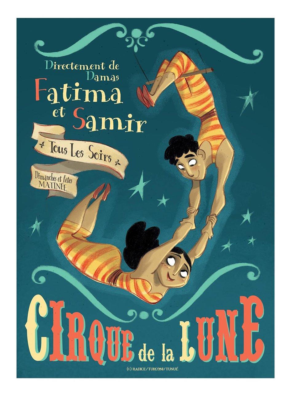 Viola Giramondo acrobati del circo nomade fatima e samir