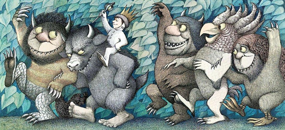 Nel paese dei mostri selvaggi Maurice Sendak