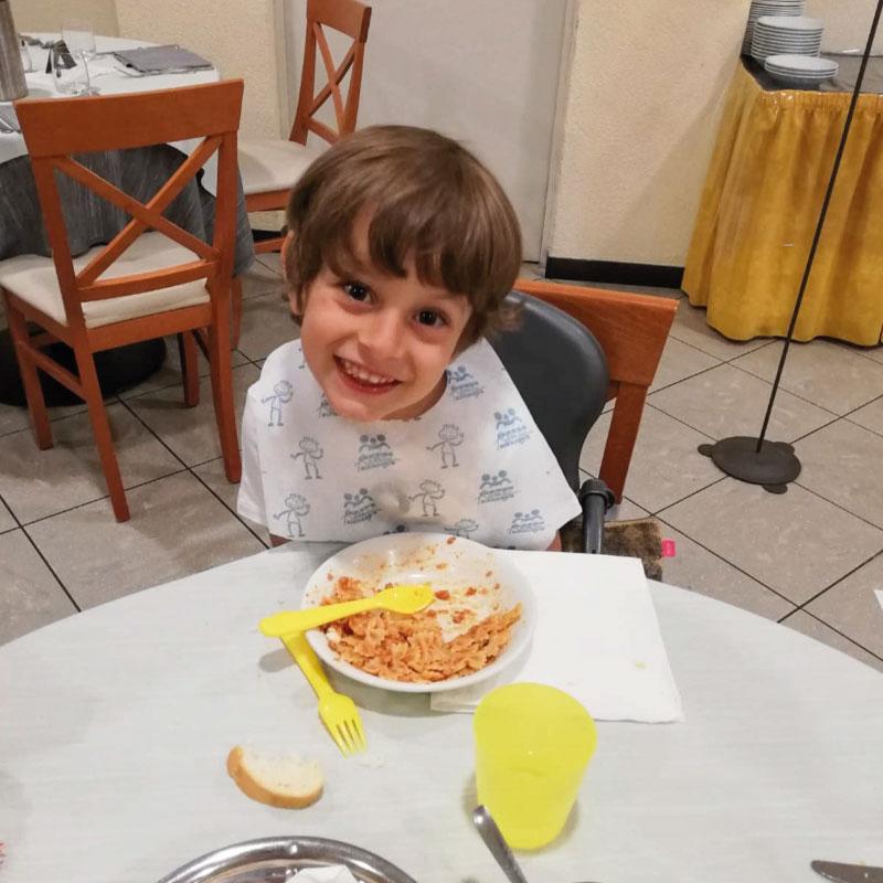 Cena bambini hotel San Giuseppe