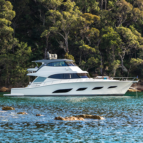 Riviera to host the European premiere of two new motor yacht models at 40th Cannes Yachting Festival