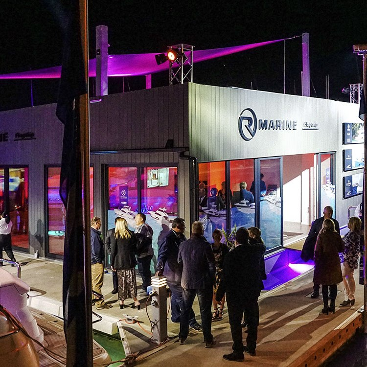 Party time in New Zealand as R Marine Flagship celebrates a new home