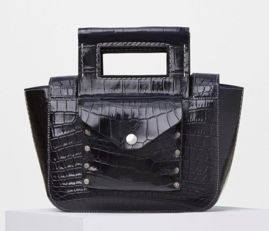Celine-Small-Crocodile-Square-Handbag