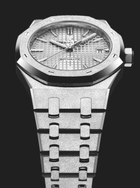 Audemars-Piguet-frosted-gold