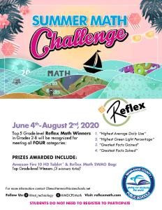 2020 Reflex Summer Math Challenge