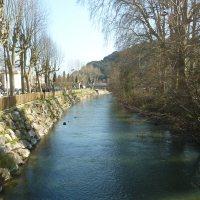 Les Rives du Loup du côté de Villeneuve-Loubet village...