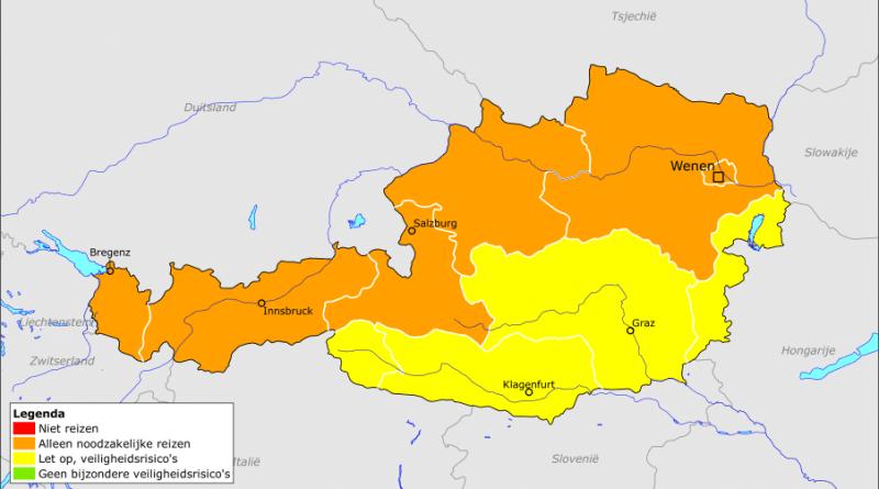 Stand van zaken: Europese rivieren zijn geel en oranje gekleurd