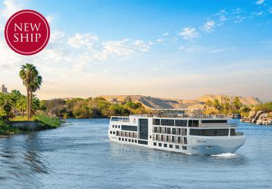 Nieuwbouwschip Viking Aton in 2022 op Nijl