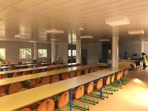 Réfectoire de l'école Mixte A - Mairie de Rivière-Salée