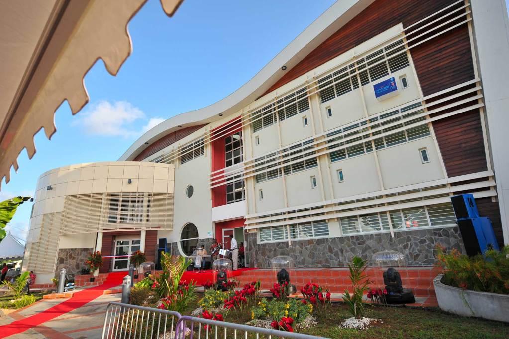 La médiathèque de Rivière-Salée - Martinique - Mairie de Rivière-Salée
