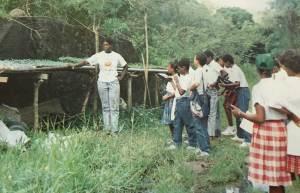 Visite chez Mme Présent - Rivière-Salée 1989