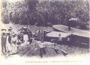 Le débarcadère de Rivière-Salée (archive)