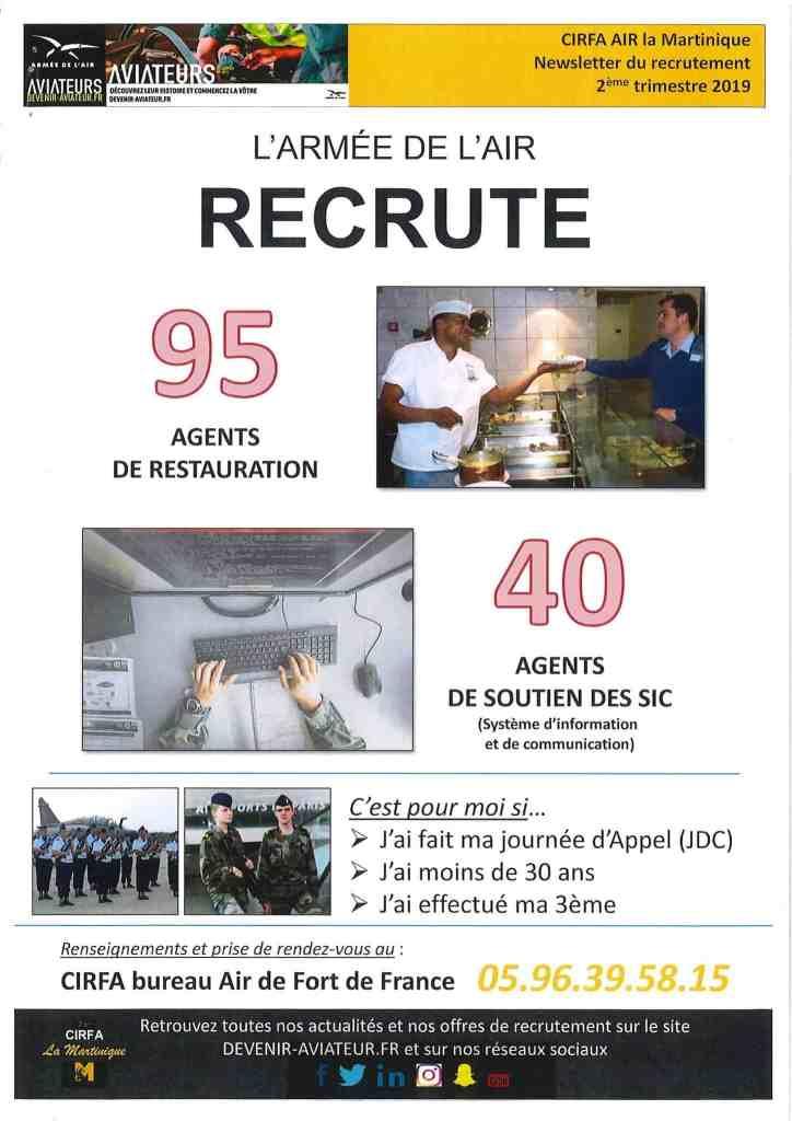 armée de l'air recrute