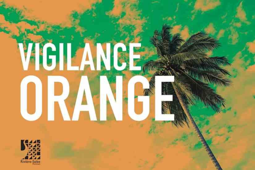 Consignes Vigilance orange Cyclone - Martinique