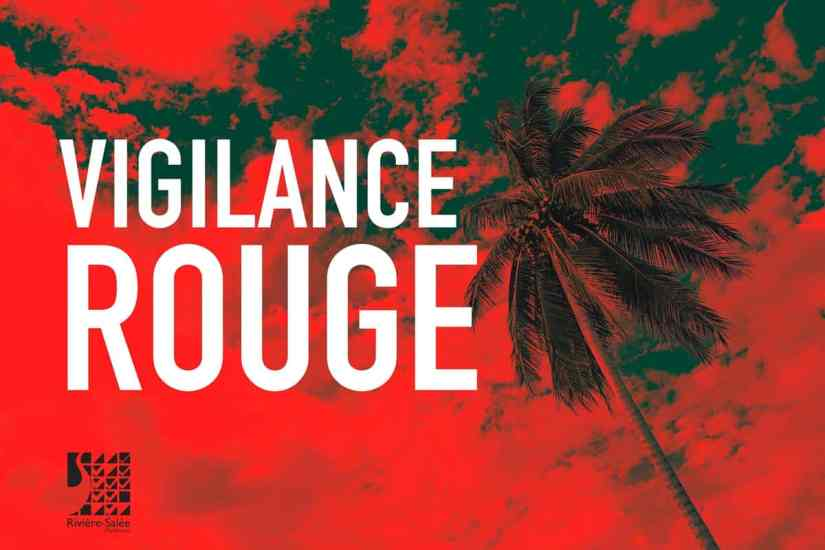 Consignes Vigilance rouge Cyclone - Martinique