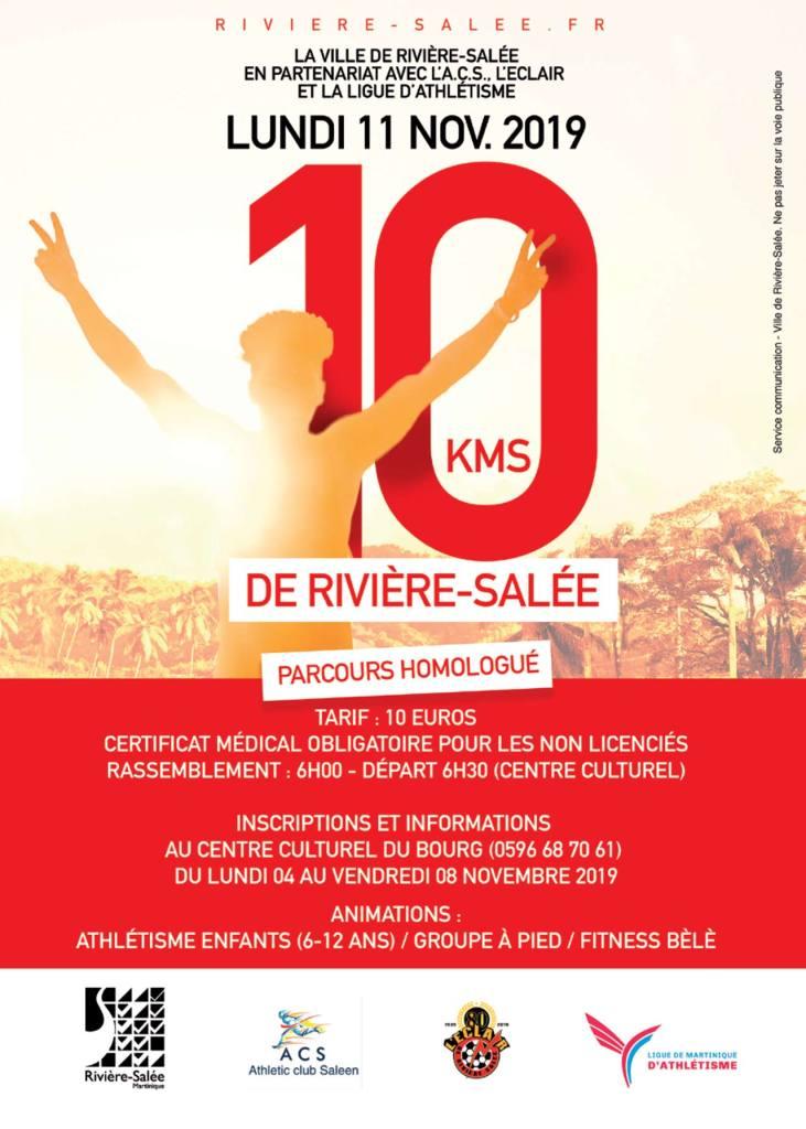 Les 10 kms de Rivière-Salée