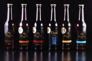 Photo des bières rivière d'ain récompenses