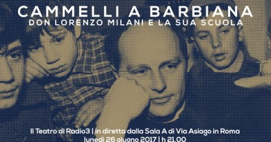 Spettacolo teatrale Cammelli a Barbiana