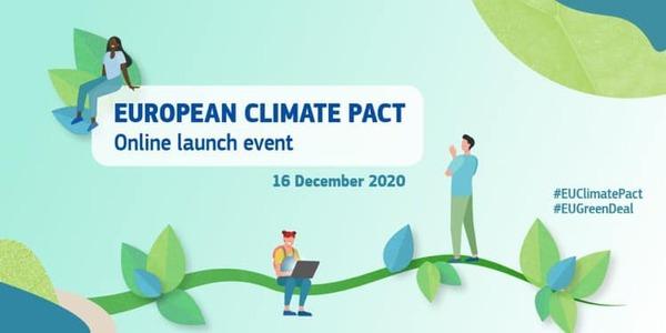 Evento lancio per il Patto Climatico Europeo: coinvolgere i cittadini per creare un'Europa più verde