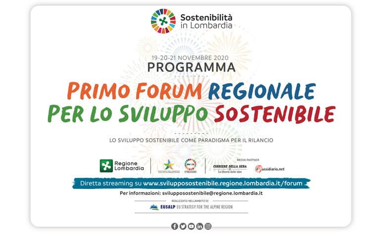 1° Forum per lo sviluppo sostenibile