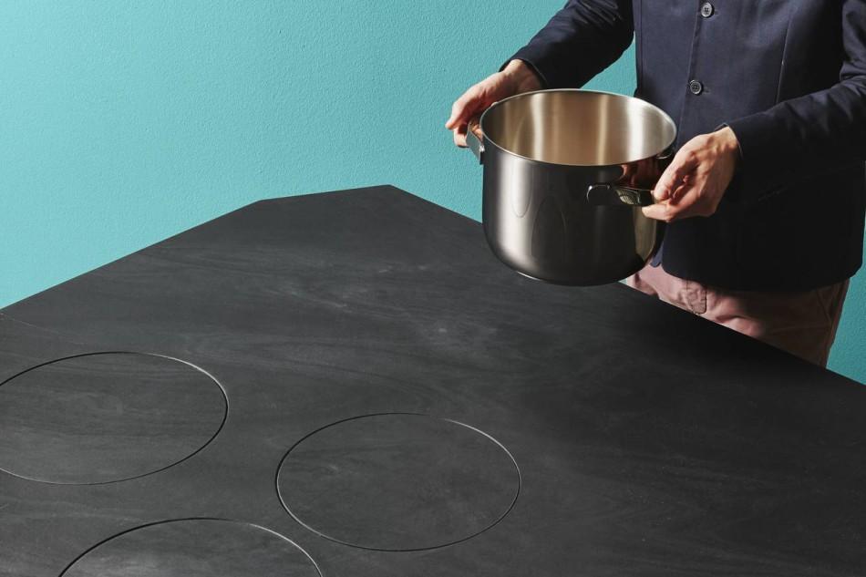 La magia di un piano cottura che scompare  Ambiente Cucina
