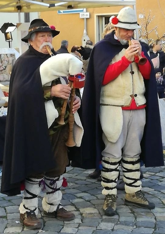 Mercatini di Natale Sant'Agata Feltria zampognari