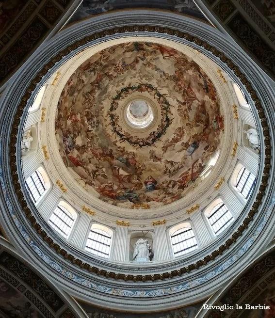 basilica di Sant'Andrea Mantova interno