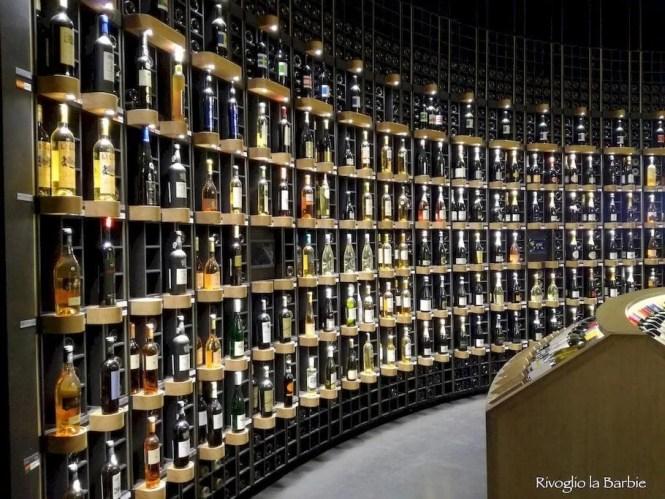 cité du vin bottiglie di vino