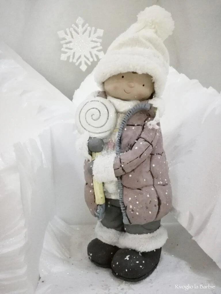 Bambina lecca lecca Natale