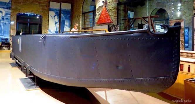 barca per trasporto del sale