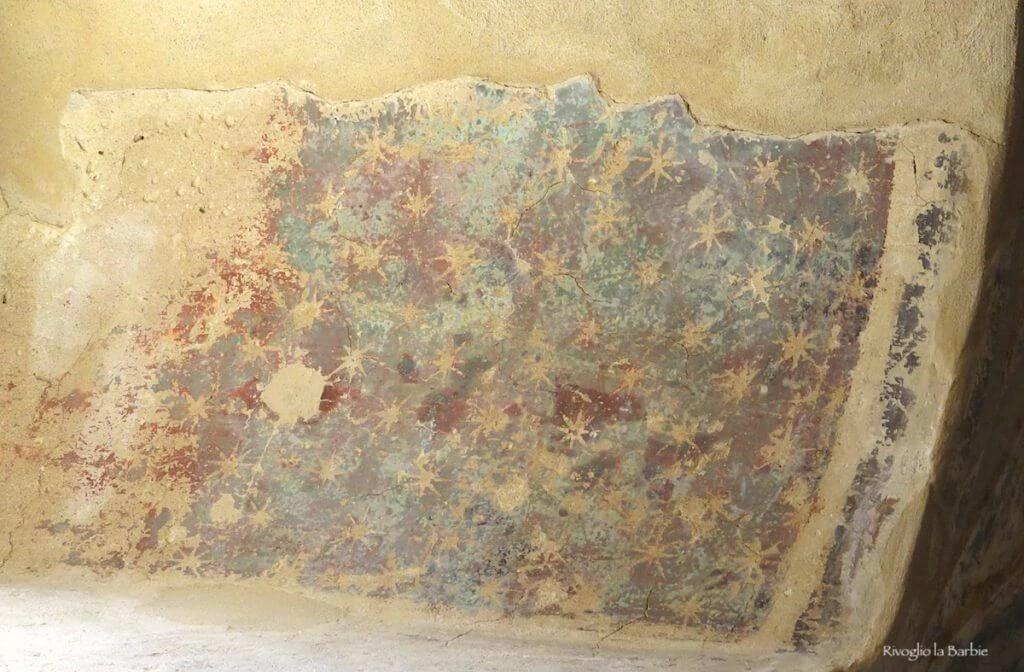 Affreschi della volta sala dell'imperatore montefiore conca