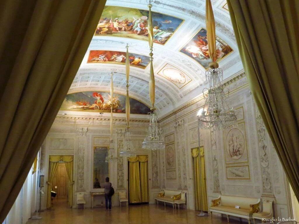 salone delle feste palazzo Milzetti Faenza